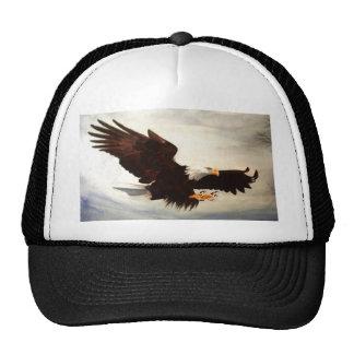 Bald Eagle Soaring Hats