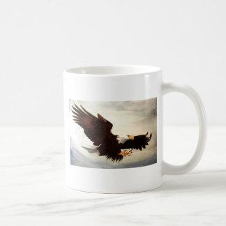 Bald Eagle Soaring Mugs