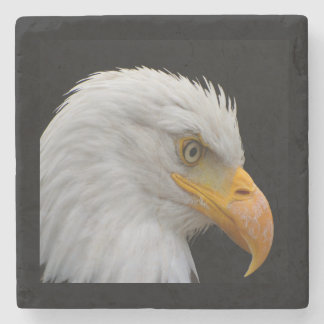 Bald Eagle Stone Beverage Coaster