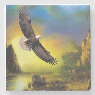 Bald Eagle Stone Coaster