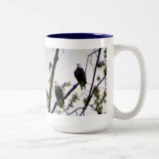 Bald Eagle Two-Tone Coffee Mug
