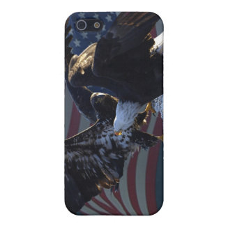Bald Eagle/US Flag iPhone Case Case For The iPhone 5