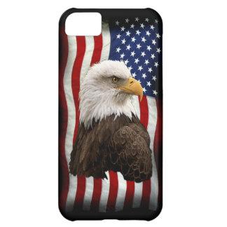 Bald Eagle & US Flag Patriotic Mobile Phone Case