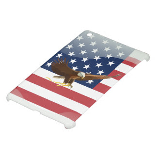 Bald eagle Usa flag iPad Mini Covers