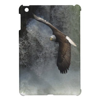 Bald Eagle & Waterfall Wild Animal iPad Mini Case