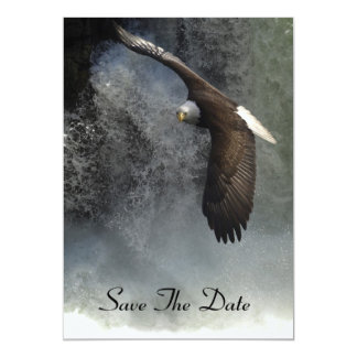 Bald Eagle & Waterfalls Invitation Cards