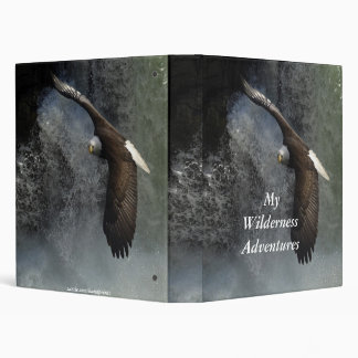 Bald Eagle & Waterfalls Photo Album 3 Ring Binders