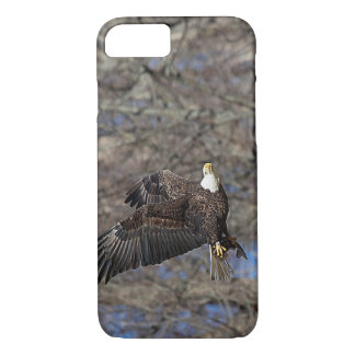 Bald Eagle with a Catfish iPhone 7 Case