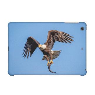 Bald Eagle with a fish iPad Mini Cover