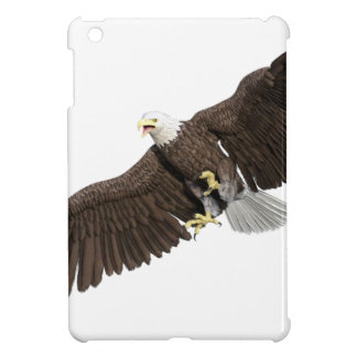 Bald Eagle with wings on down stroke iPad Mini Covers