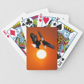 Bald eagles and venus in transit poker deck