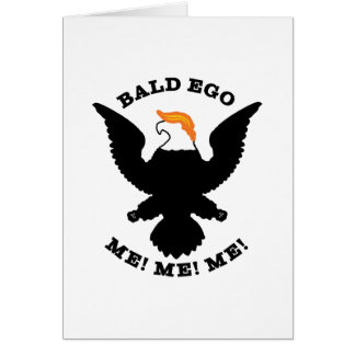 Bald Ego Me Me Me (light) Card