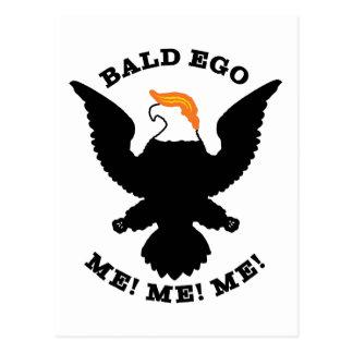 Bald Ego Me Me Me (light) Postcard
