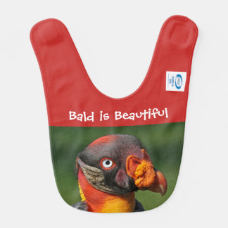 Bald is Beautiful Bib