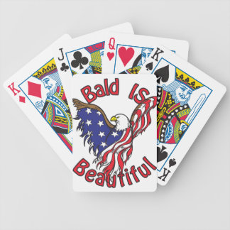 Bald is Beautiful - style4 Bicycle Playing Cards