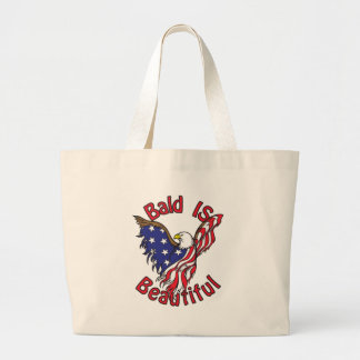 Bald is Beautiful - style4 Large Tote Bag
