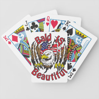 Bald is Beautiful - style5 Bicycle Playing Cards