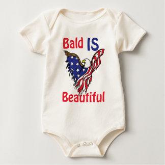 Bald is Beautiful - style 1 Baby Bodysuit