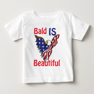 Bald is Beautiful - style 1 Baby T-Shirt