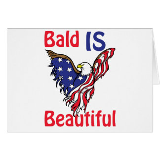 Bald is Beautiful - style 1 Card