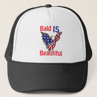 Bald is Beautiful - style 1 Trucker Hat
