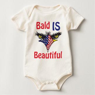 Bald is Beautiful  - style 2 Baby Bodysuit