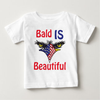 Bald is Beautiful  - style 2 Baby T-Shirt