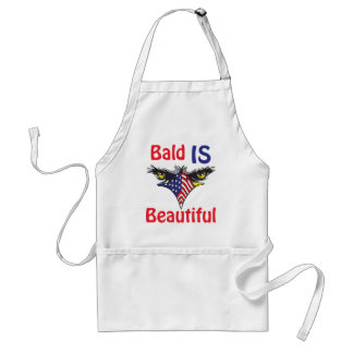 Bald is Beautiful  - style 2 Standard Apron