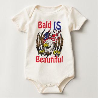 Bald is Beautiful  - style 3 Baby Bodysuit