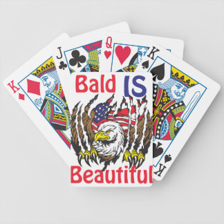 Bald is Beautiful  - style 3 Bicycle Playing Cards