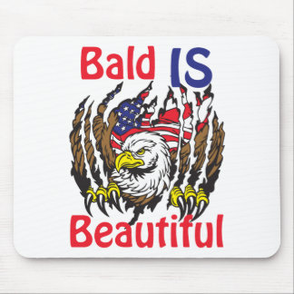 Bald is Beautiful  - style 3 Mouse Pad