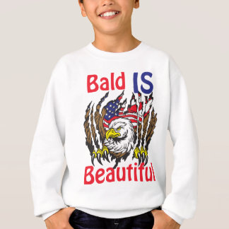 Bald is Beautiful  - style 3 Sweatshirt
