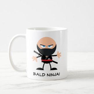 Bald Ninja Coffee Mug
