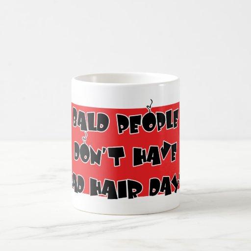 BALD PEOPLE COFFEE MUGS