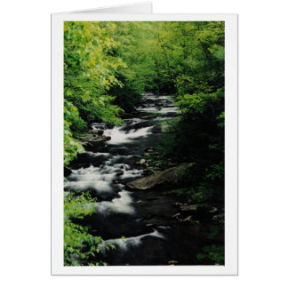 Bald River Cascades Greeting Card