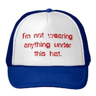 Bald Under the Hat