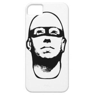 Baldhead Hero Illustration iPhone 5 Cases