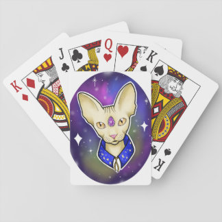 Baldie the Wizard Spynx Playing Cards