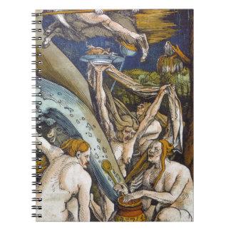 Baldung_Hexen_1508_ Spiral Notebook