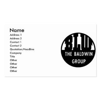 Baldwin Locomotive Works Business Cards