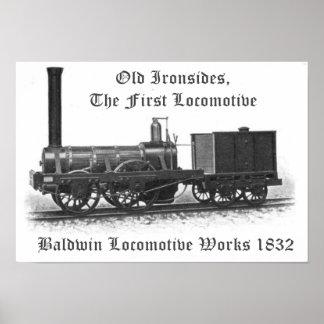 Baldwin Locomotive Works, Old Ironsides 1832 Poster