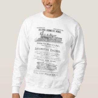 Baldwin Locomotive Works Railway Locomotives Sweatshirt