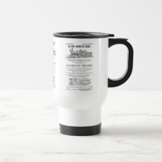 Baldwin Locomotive Works Railway Locomotives Travel Mug