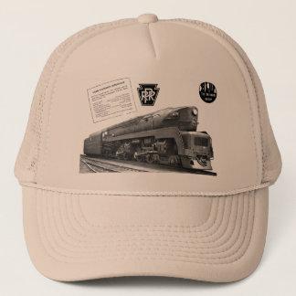 Baldwin-Pennsylvania Railroad T-1 Steam Locomotive Trucker Hat