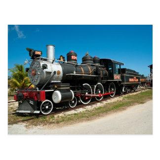 Baldwin Steam Locomotive Postcard