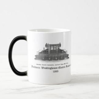 Baldwin Westinghouse Electric locomotive 1893 Magic Mug