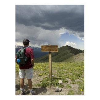 baldy trail postcard