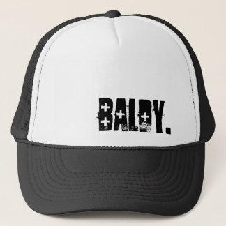 Baldy Trucker Hat