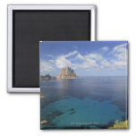Balearic Islands, Ibiza, Spain Square Magnet