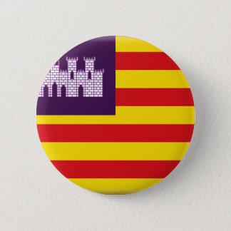 Balearic Islands (Spain) Flag 2 Inch Round Button